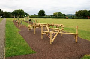 New Trim Trail Activity at Harrowgate Drive Playing Fields